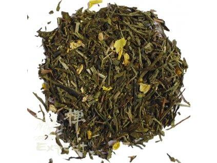 Aromatizovaný čaj Sencha a oolong Citróno-zázvorový sen