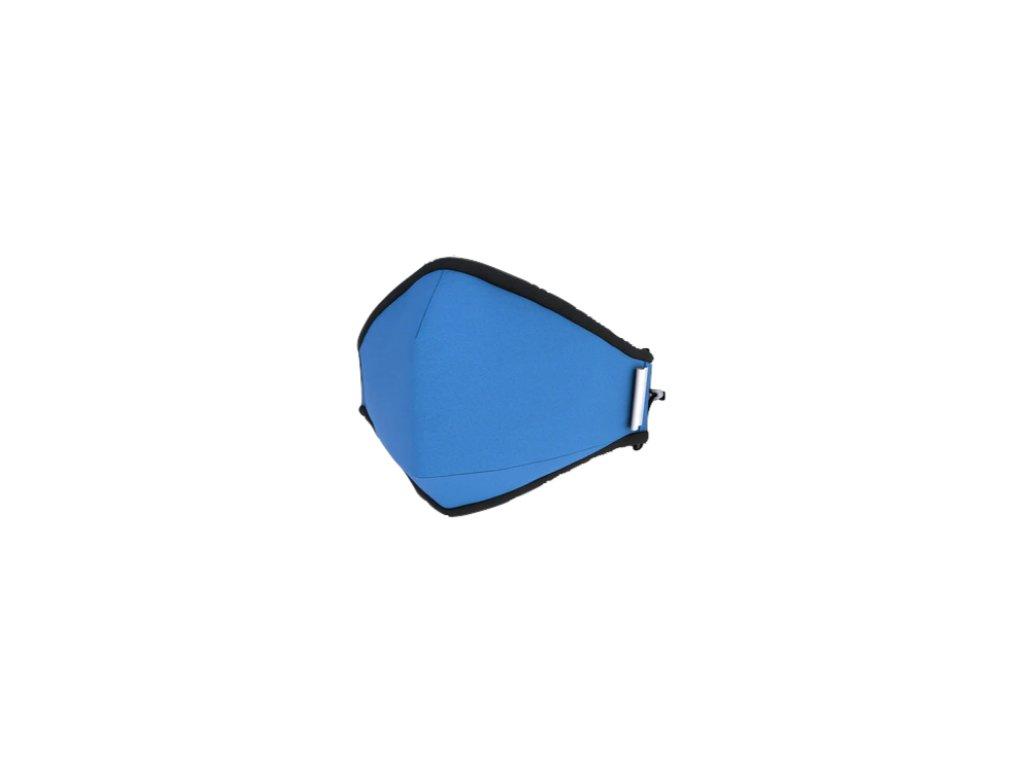 LIMITOVANÁ - Ekologická 3D NANOrouška pro BĚŽNÉ NOŠENÍ - FFP2/3 na 200+ dnů - Světle modrá