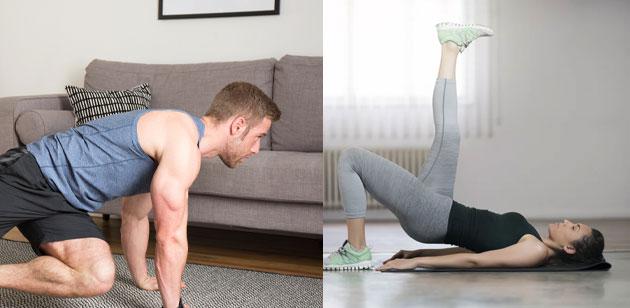 Jak efektivně cvičit doma!