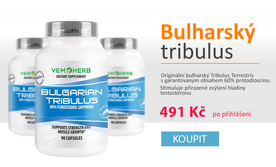 Bulgarian Tribulus - nejsilnější tribulus na trhu za super cenu!