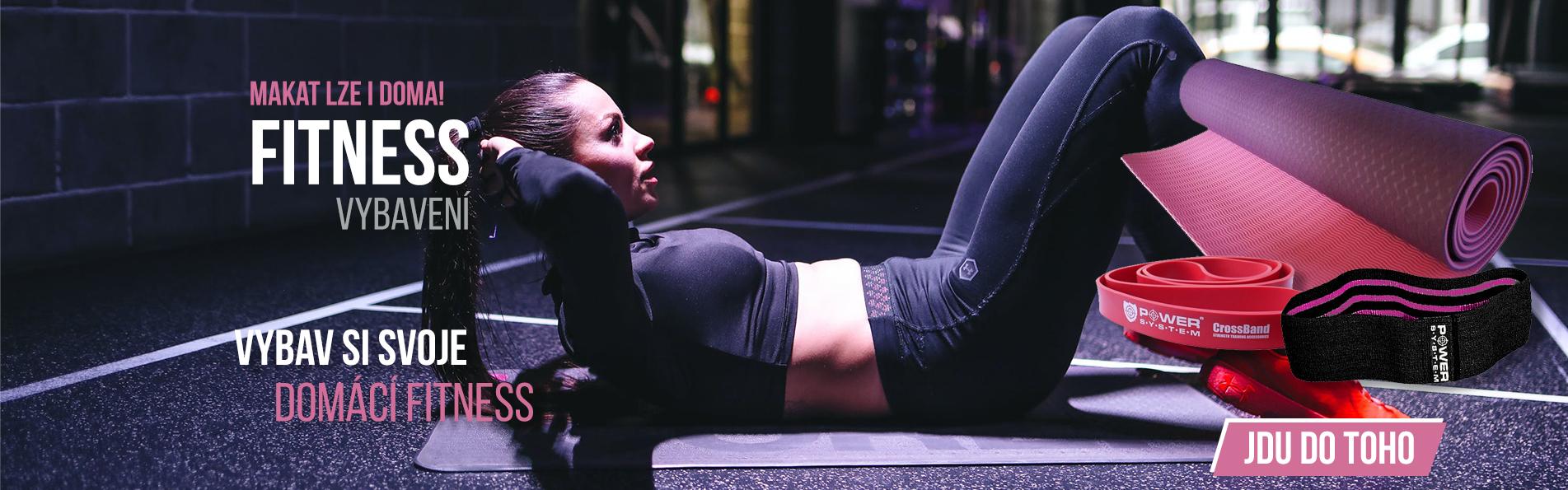Fitness vybavení na doma