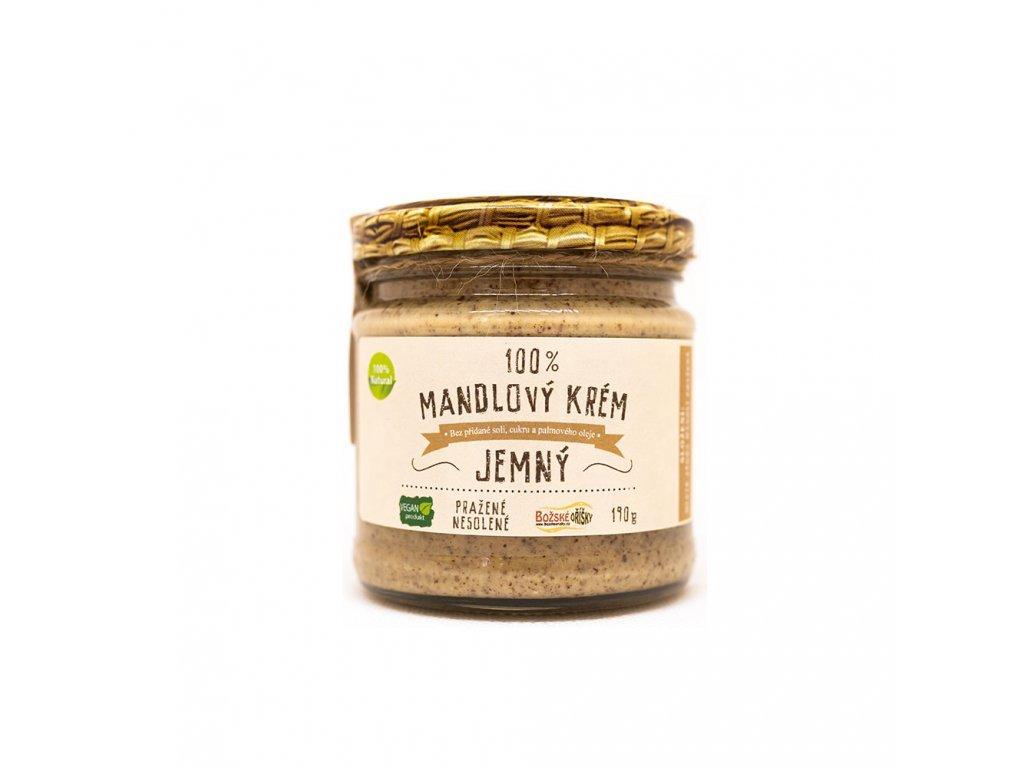 100% Mandlový krém - jemný 190g