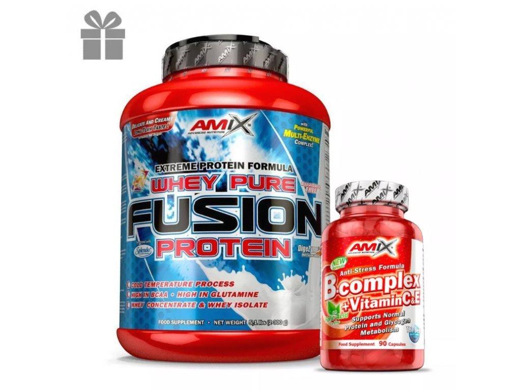whey pure fusion protein b complex