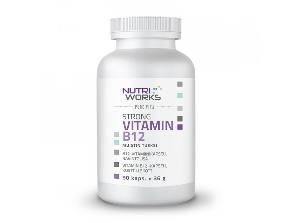 StrongVITAMINB12 60cps NW