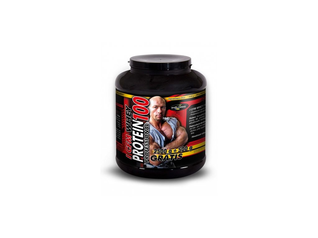Explomax Instant CFM Whey Protein 100 3000 g