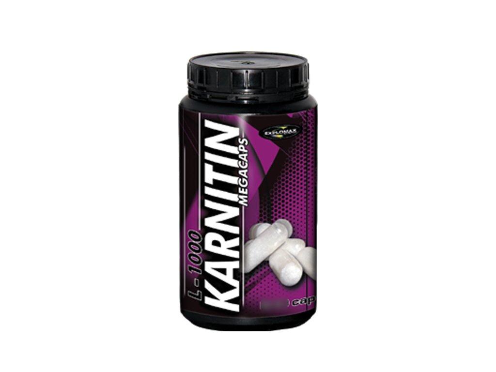Explomax Karnitin Mega Caps 240 kapslí