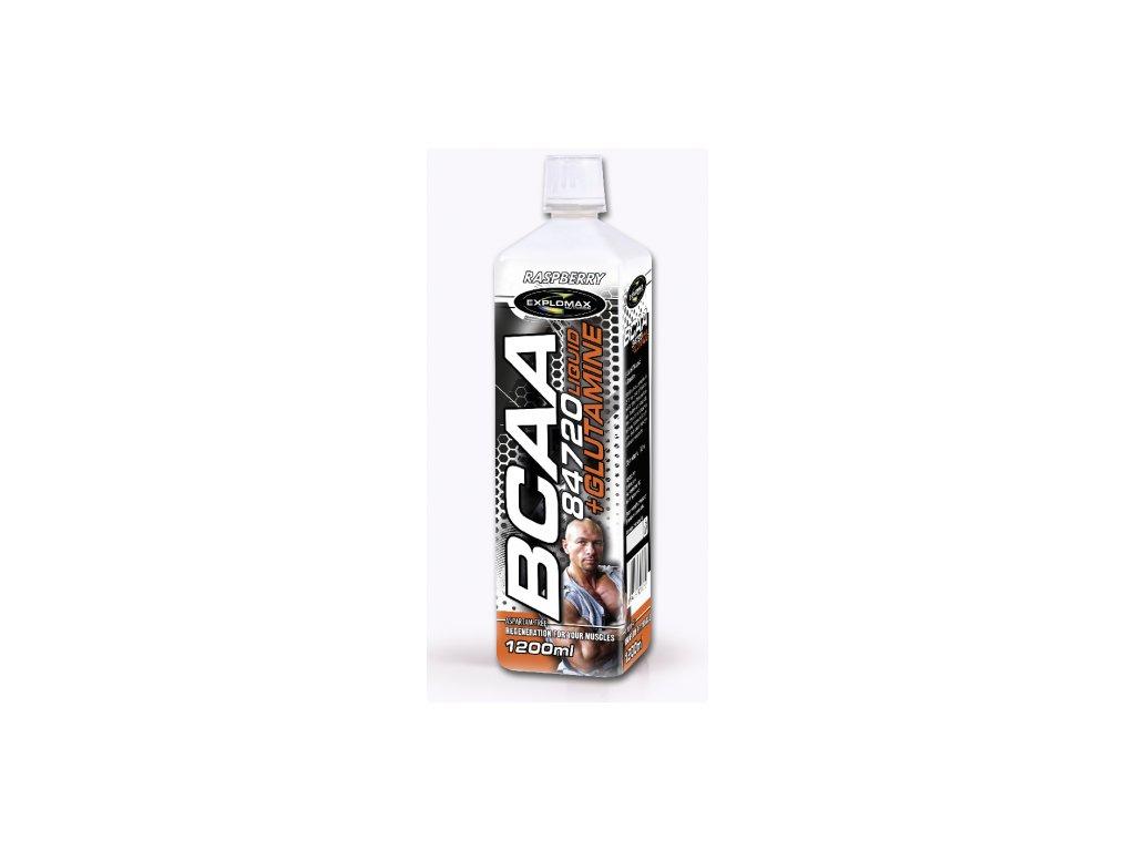 Explomax BCAA 84 720 Liquid + Glutamine 1200ml