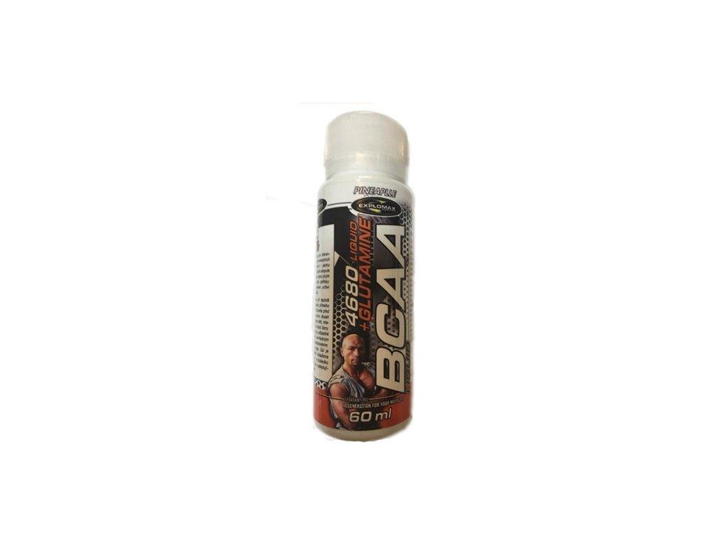 Explomax BCAA 4680 liquid + Glutamine 60ml