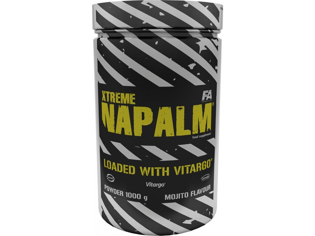 fitness authority xtreme napalm vitargo 4