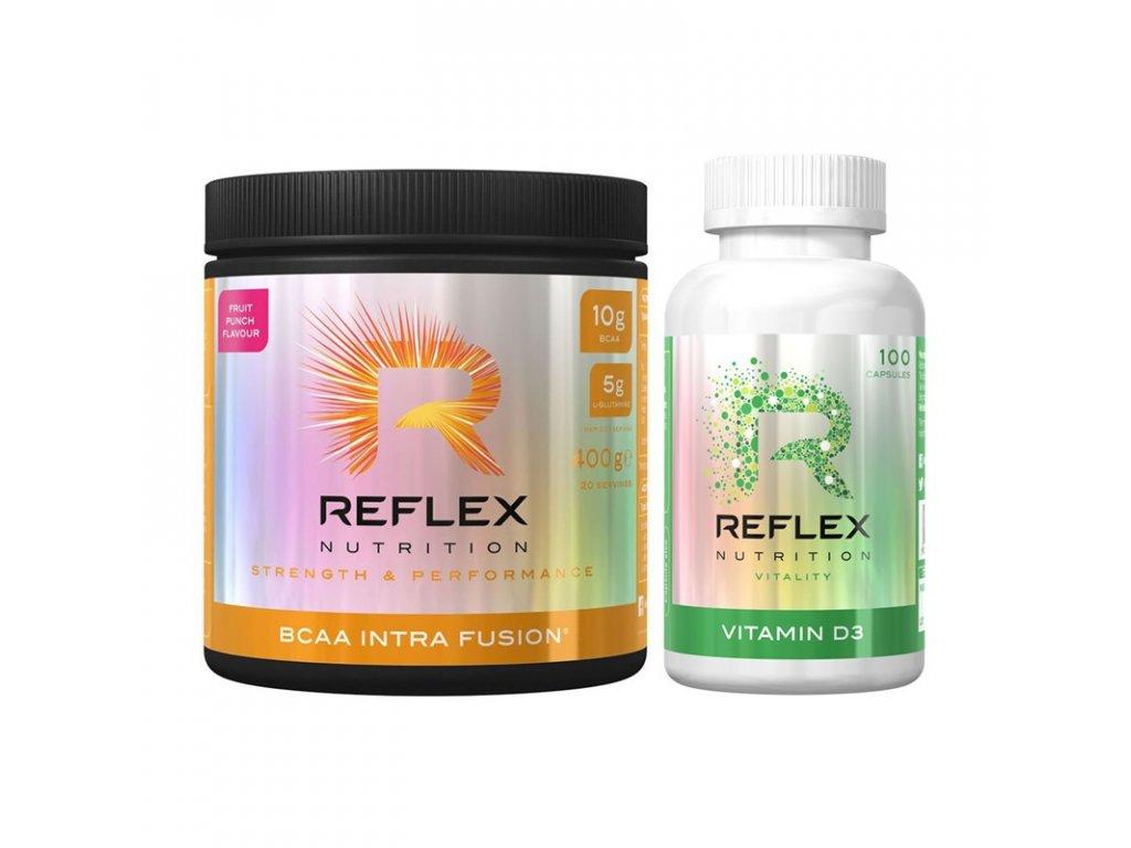 BCAA Intra Fusion + vitamin D3 1