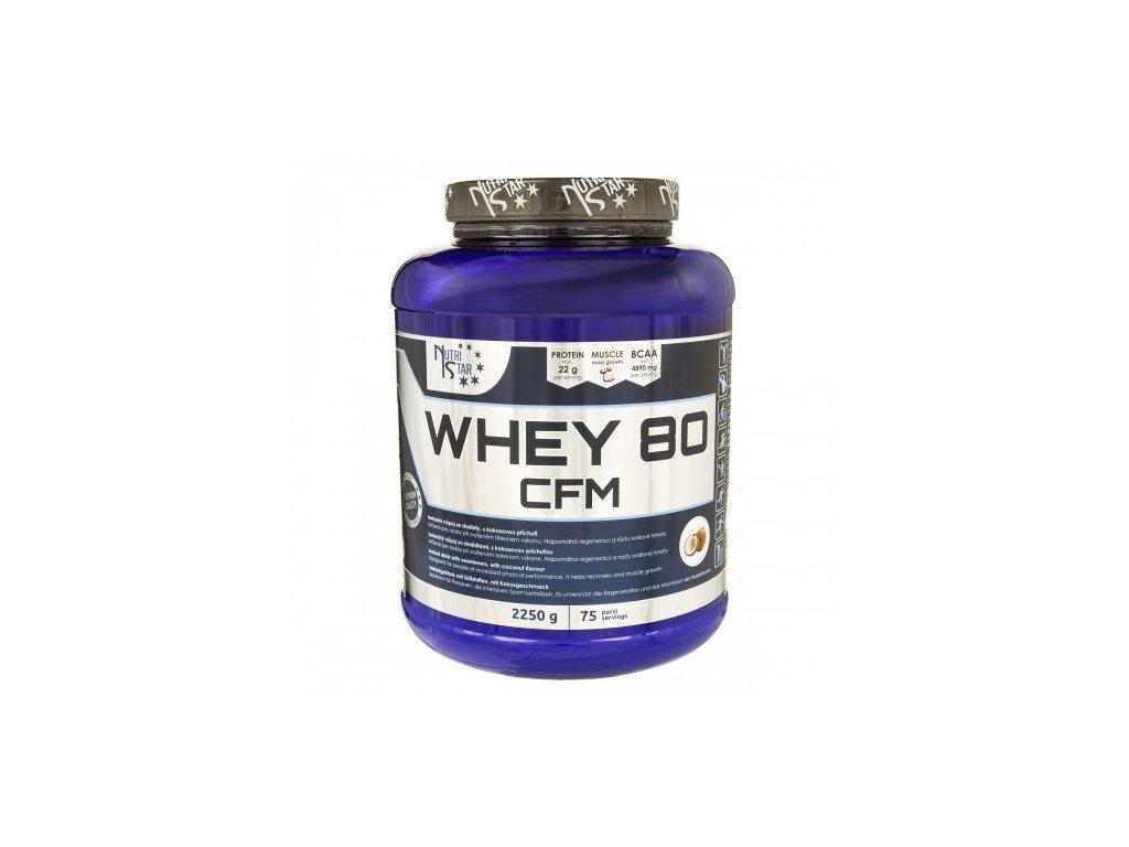 Nutristar WHEY 80 CFM 2250 g