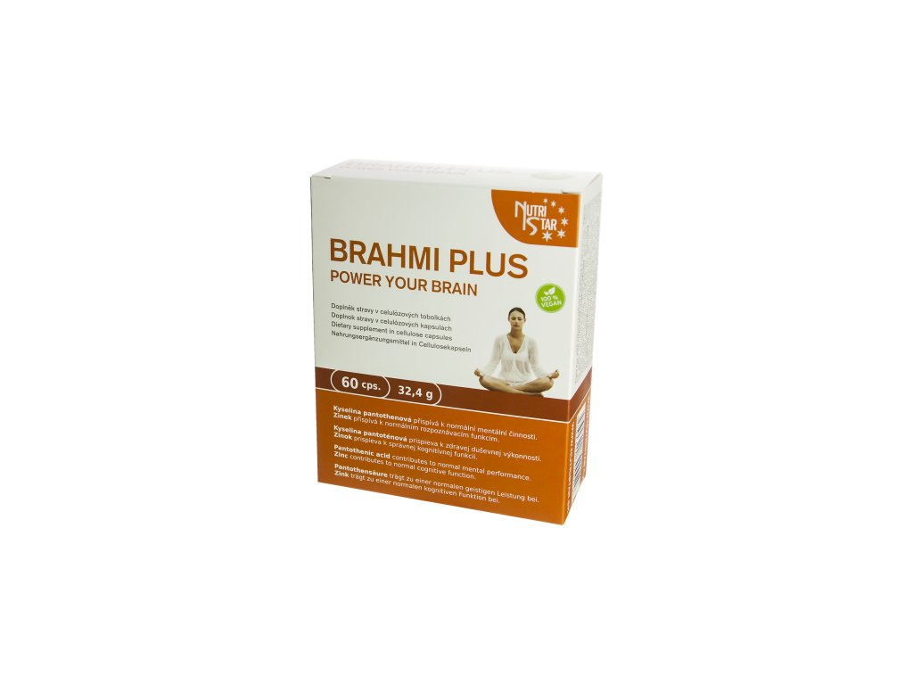 Nutristar Brahmi Plus 60 cps.