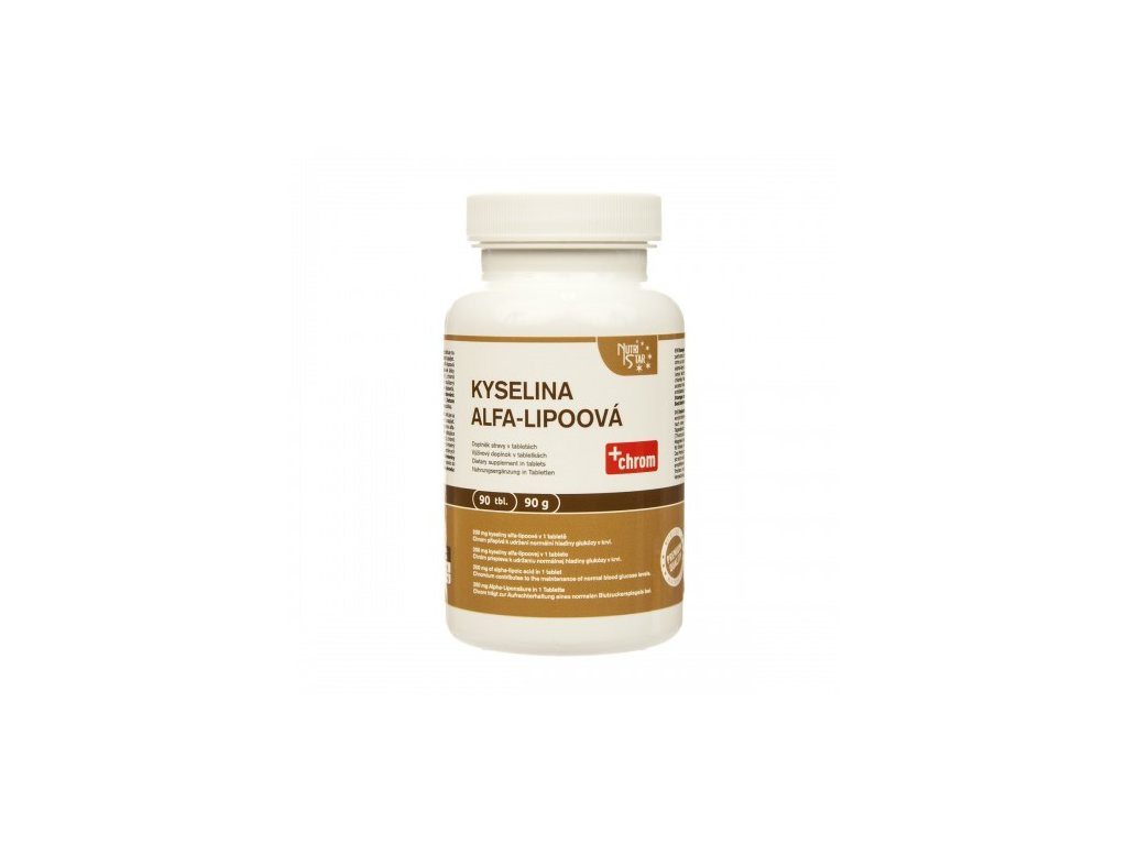 Nutristar Kyselina alfa-lipoová 90 tablet