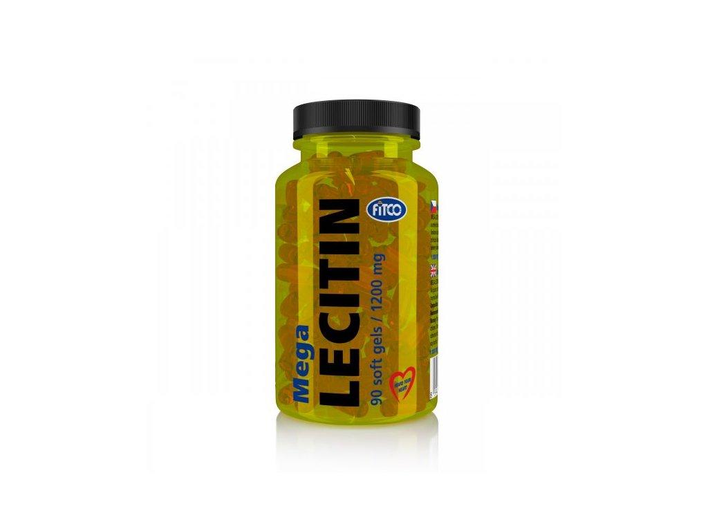 Fitco Mega Lecitin 1200 mg 90 kapslí