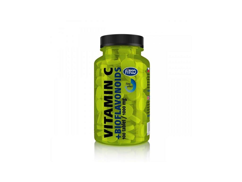 Fitco Vitamín C 1000 mg s Bioflanoidy 100 tablet