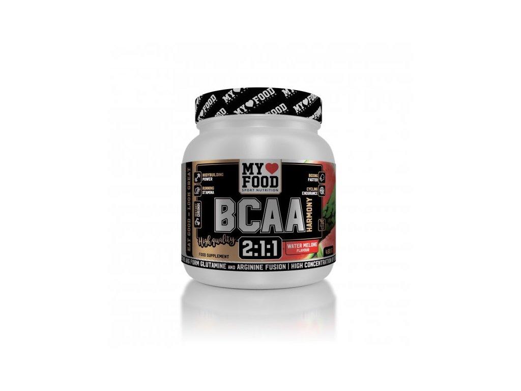 My Food BCAA Harmony 490 g  + ZDARMA tester produktu (protein, nakopávač, tyčinka)