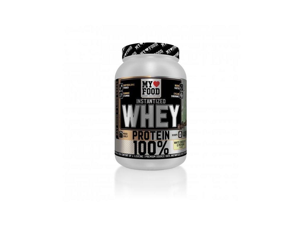 MYF 100% WHEY Protein 1050 g  + ZDARMA tester produktu (protein, nakopávač, tyčinka)