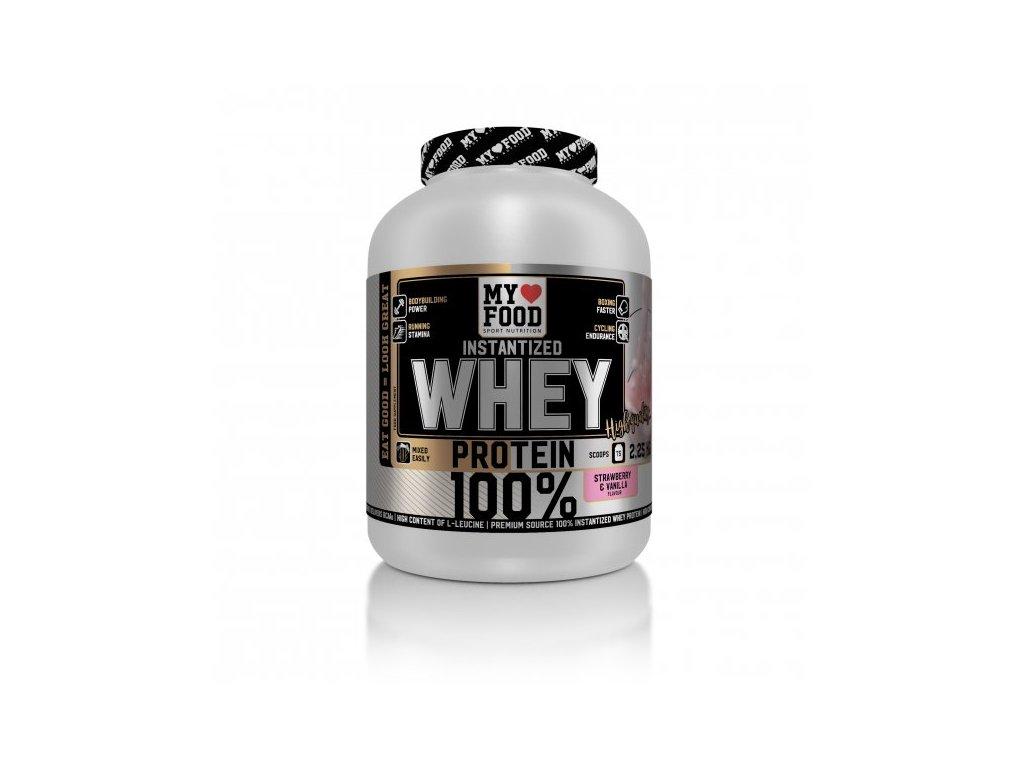 MYF 100% WHEY Protein 2250 g  + ZDARMA tester produktu (protein, nakopávač, tyčinka)
