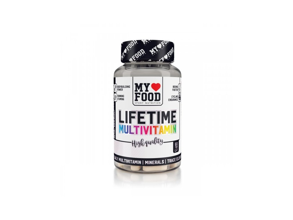 MYF Life Time Multivitamin 60 tablet  + ZDARMA tester produktu (protein, nakopávač, tyčinka)