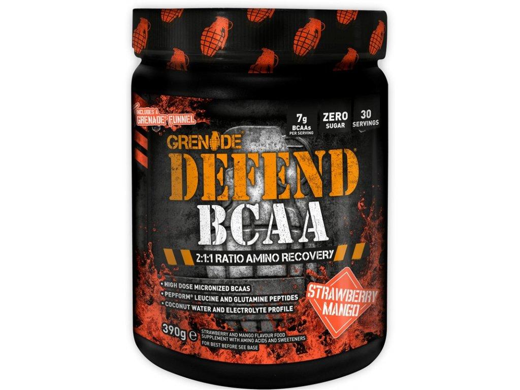 EU Defend BCAA 30 Serve Strawberry Mango
