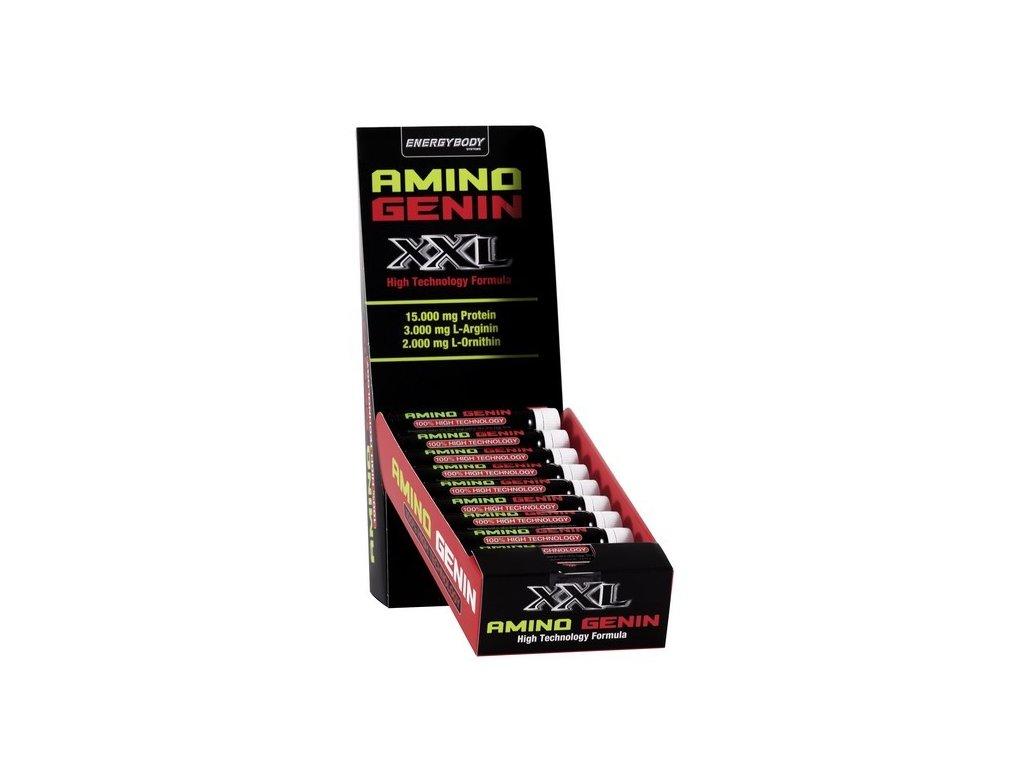 XXL Amino Genin 15.000mg 20 ampulí  + ZDARMA tester produktu (protein, nakopávač, tyčinka)