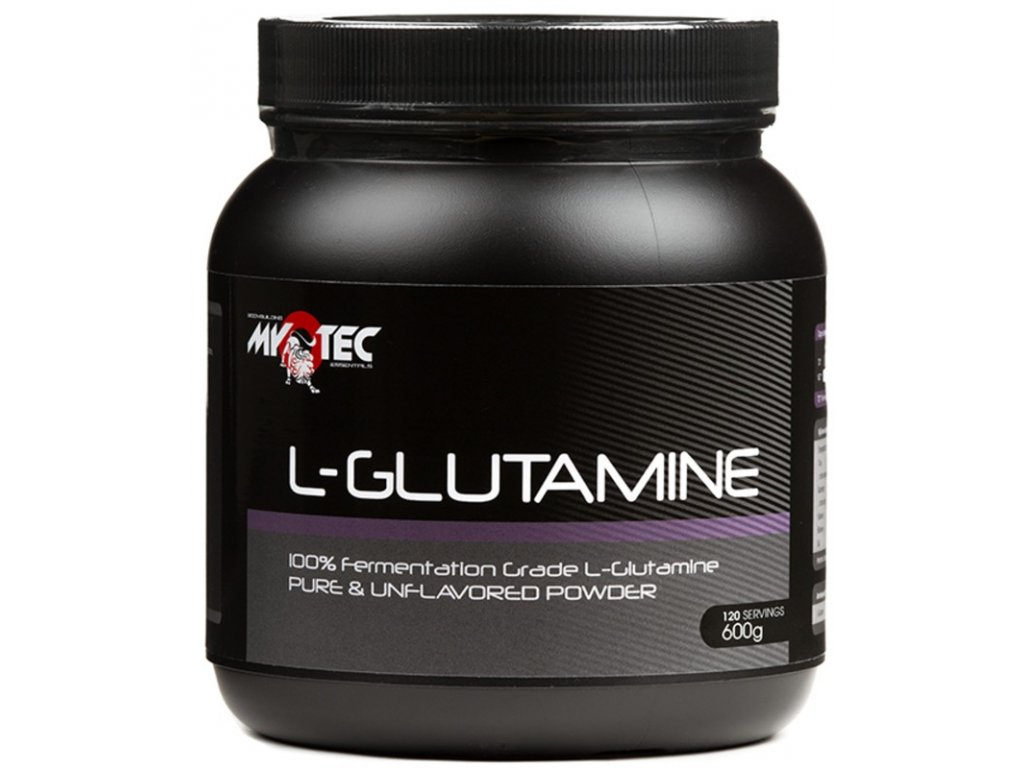 L-Glutamine 600g  + ZDARMA tester produktu (protein, nakopávač, tyčinka)