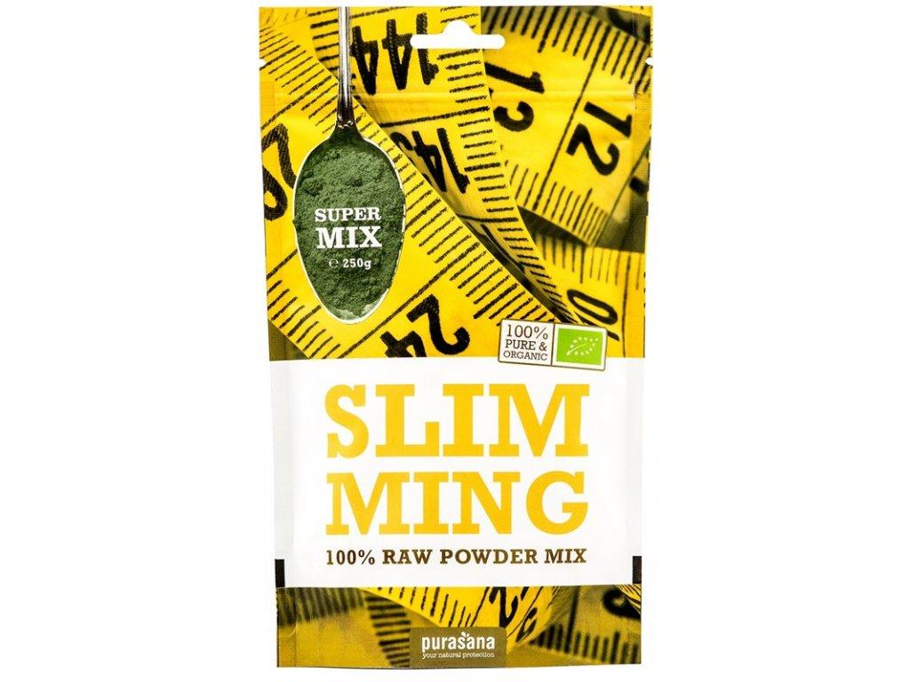Slimming Mix BIO 250g  + ZDARMA tester produktu (protein, nakopávač, tyčinka)