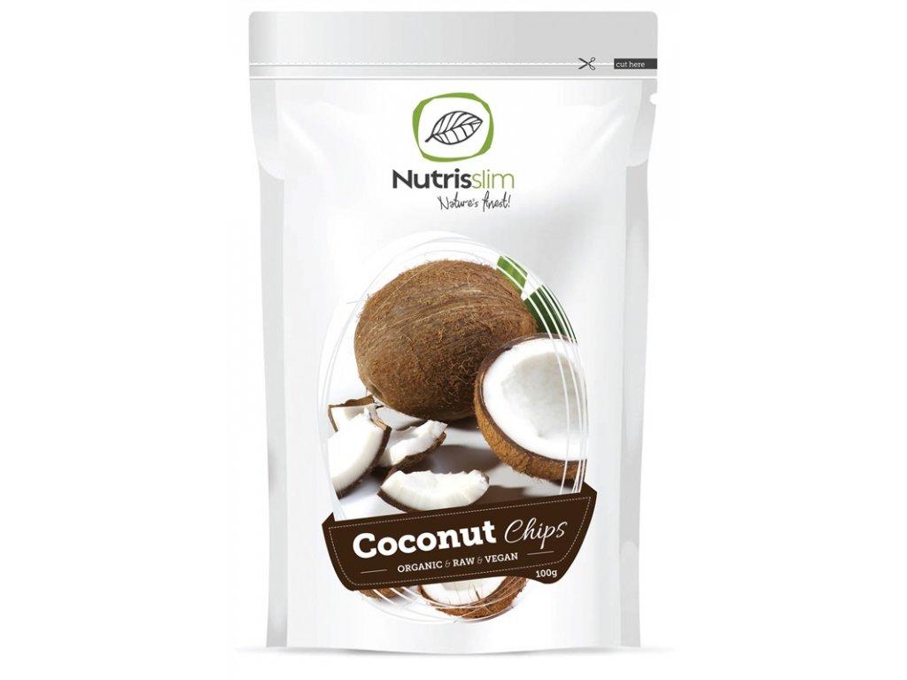 Coconut Chips 100g Bio  + ZDARMA tester produktu (protein, nakopávač, tyčinka)