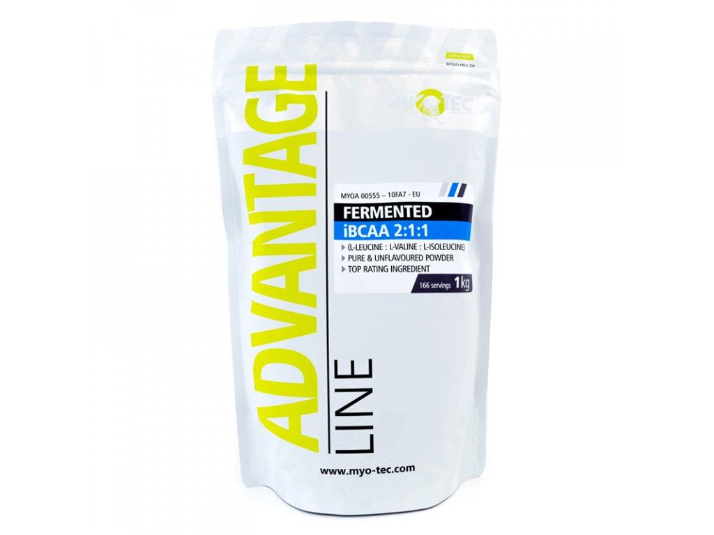 Fermented iBCAA 2:1:1 1kg  + ZDARMA tester produktu (protein, nakopávač, tyčinka)