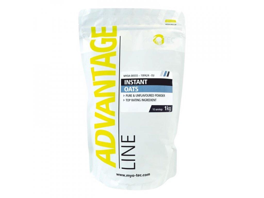 Instant Oats 1kg  + ZDARMA tester produktu (protein, nakopávač, tyčinka)