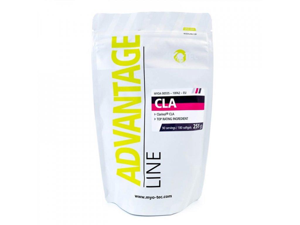 CLA 180 kapslí  + ZDARMA tester produktu (protein, nakopávač, tyčinka)