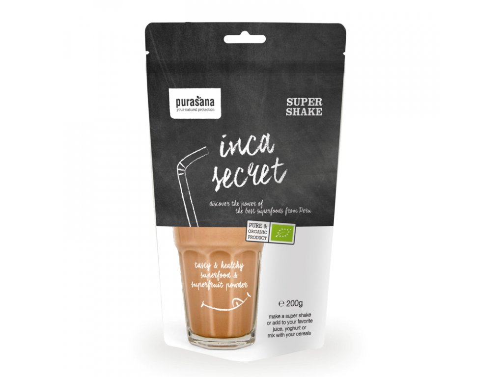 Inca Secret Super Shake 200g BIO