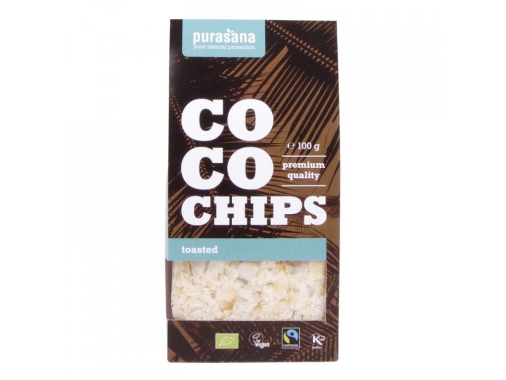 COCO Chips 100g toasted