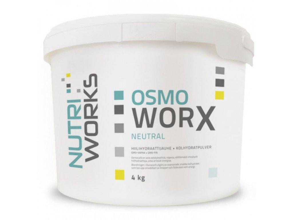 NutriWorks Osmo Worx 4000g  + ZDARMA tester produktu (protein, nakopávač, tyčinka)