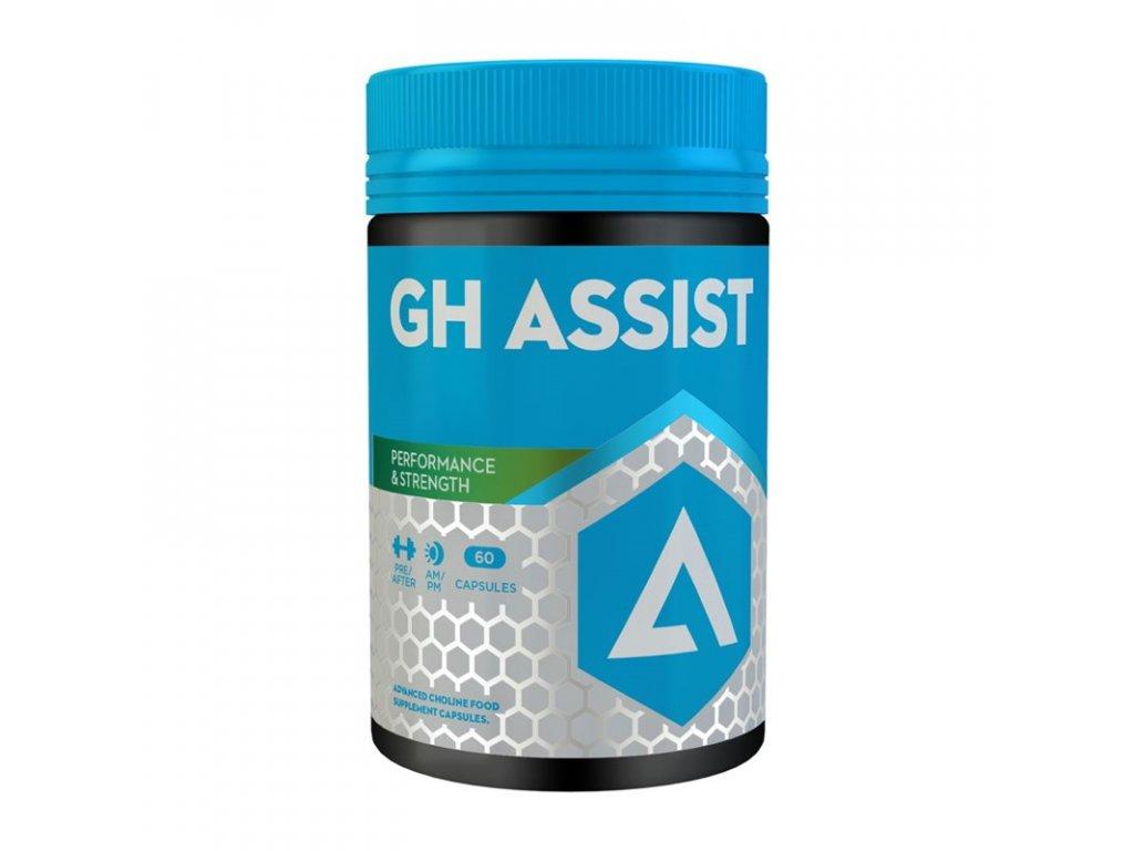 GH Assist 60 kapslí  + ZDARMA tester produktu (protein, nakopávač, tyčinka)