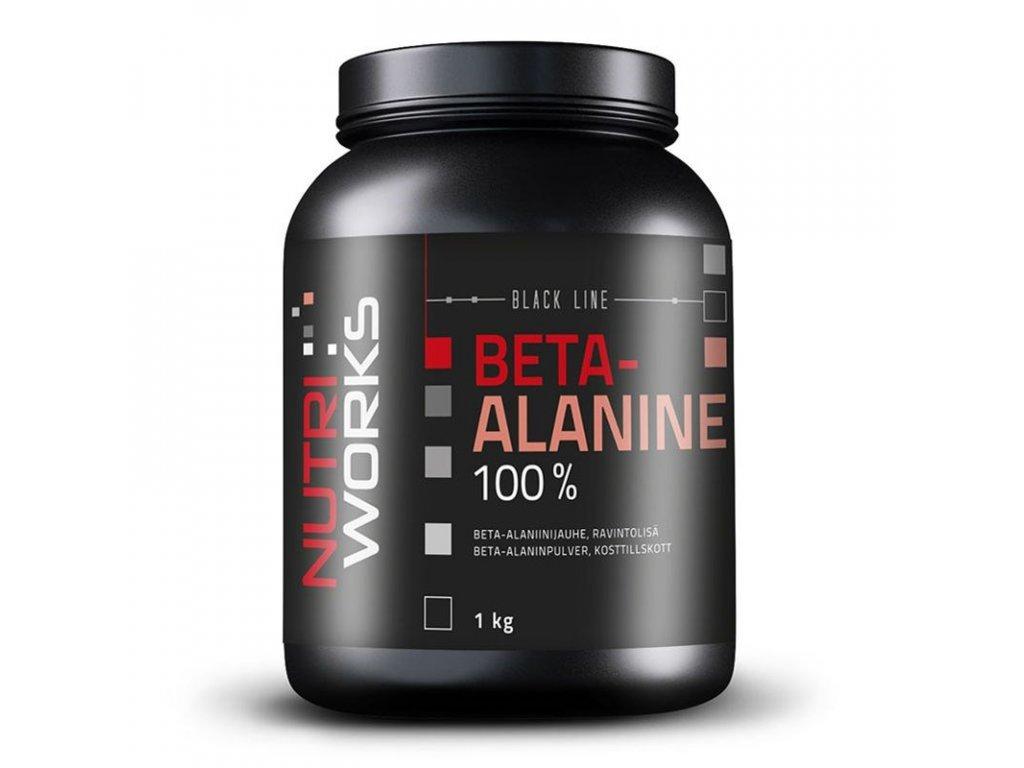 NutriWorks Beta-Alanine 1000g  + ZDARMA tester produktu (protein, nakopávač, tyčinka)