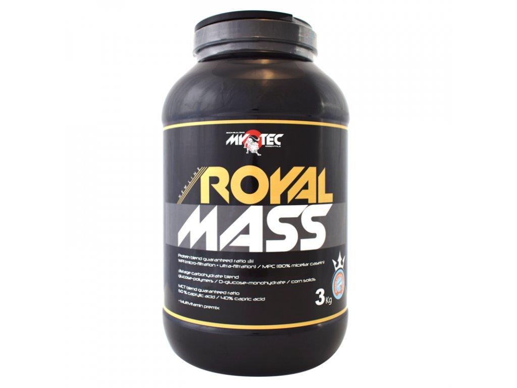 Royal Mass 3kg  + ZDARMA tester produktu (protein, nakopávač, tyčinka)