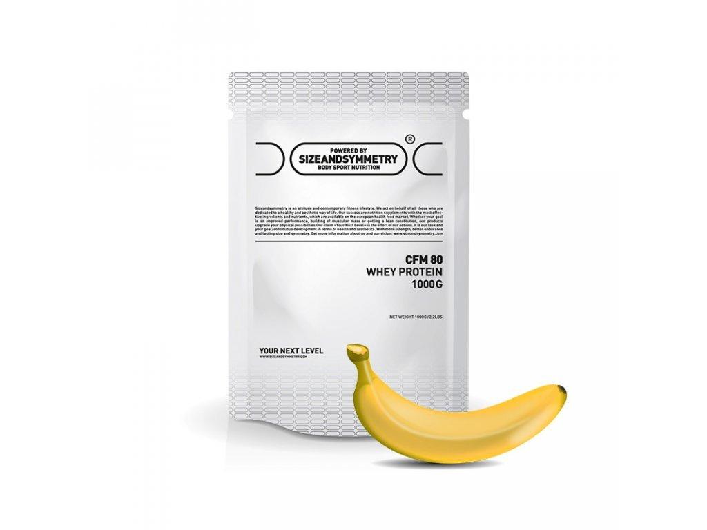 126 sizeandsymmetry whey protein 1kg banan