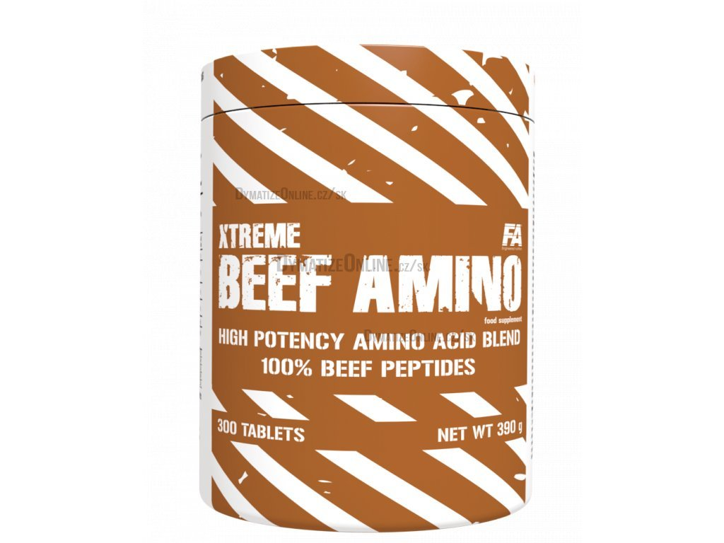 Fitness Authority Xtreme Beef Amino 600tbl