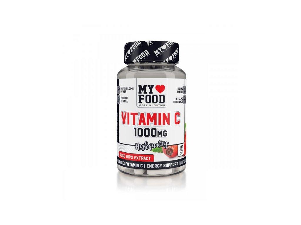 MYF Vitamín C 1000 mg se šípkem 100 tablet