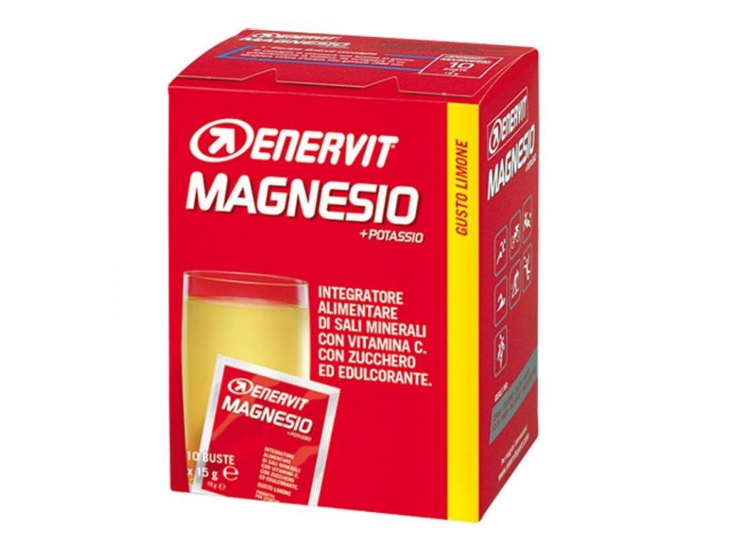 MagnesiumPotassiumSportCitron10x15g enervit