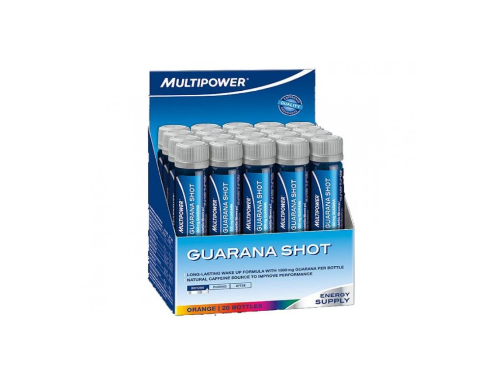 MULTIPOWER Guarana Shot 20 amp.
