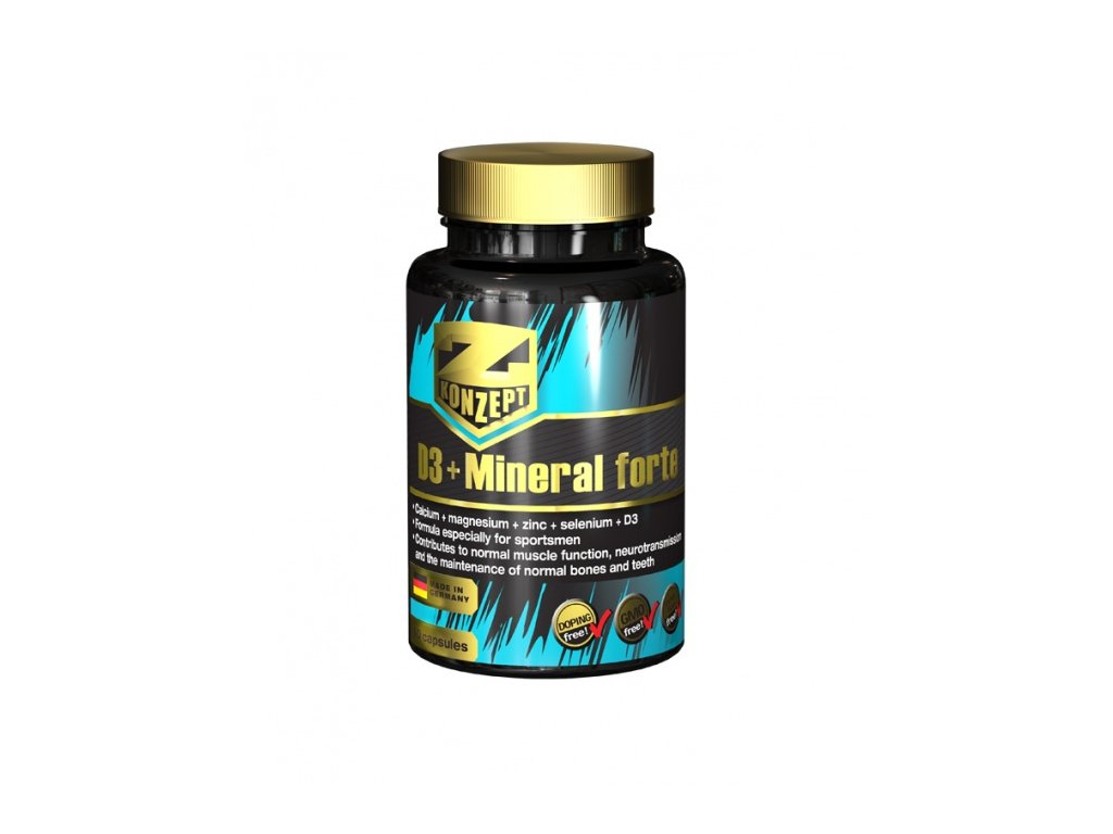 Z-KONZEPT NUTRITION D3 + Mineral Forte 60 kapslí