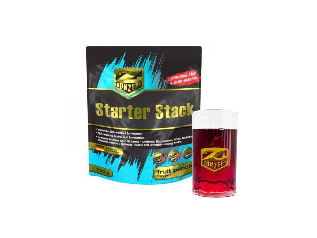 Z-KONZEPT NUTRITION Starter Stack 700 g