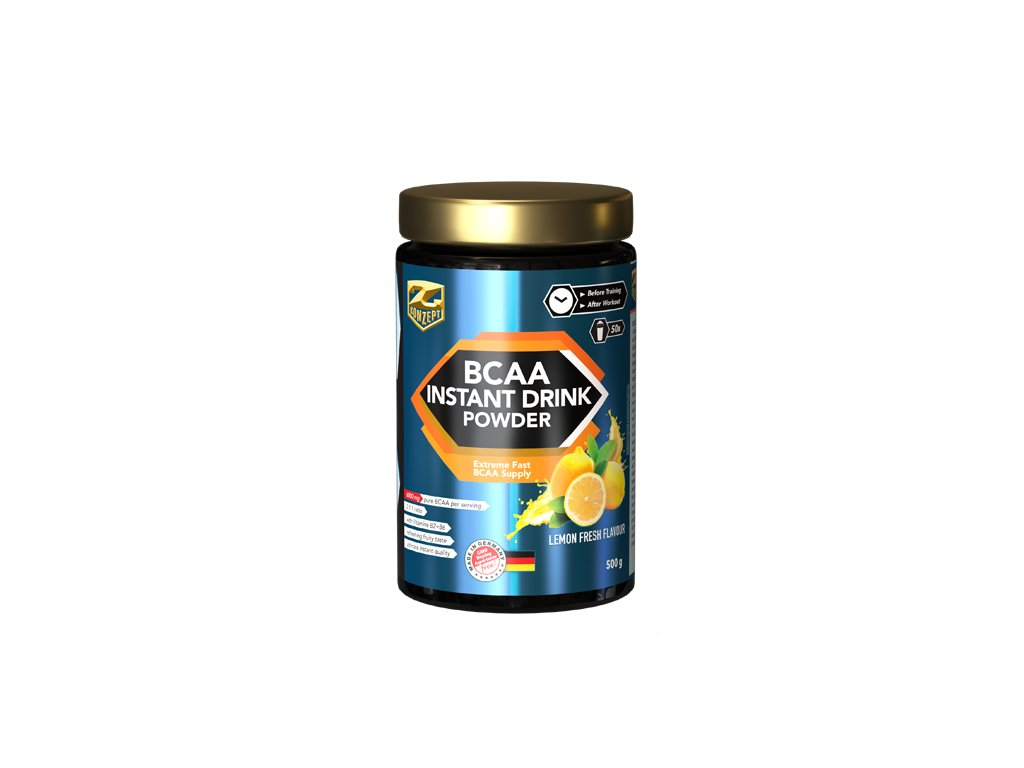 Z-KONZEPT NUTRITION BCAA Instant Drink Powder 500 g