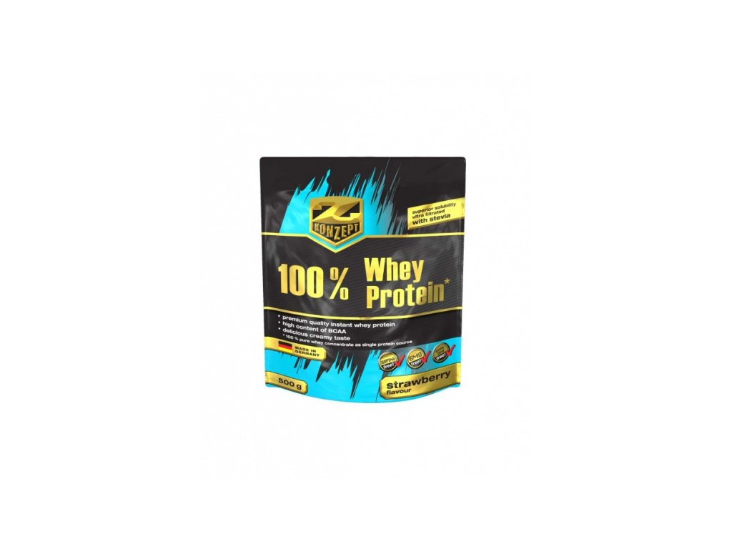 Z-KONZEPT NUTRITION 100% Whey Protein 500 g
