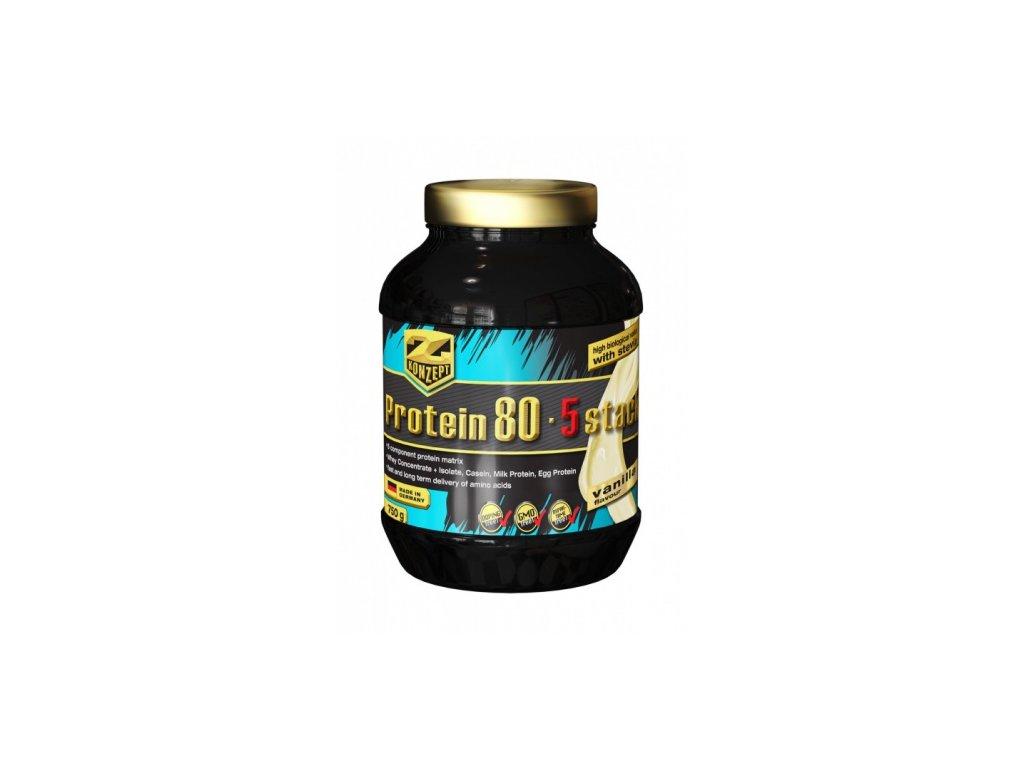 Z-KONZEPT NUTRITION Protein 80 Stack 750 g