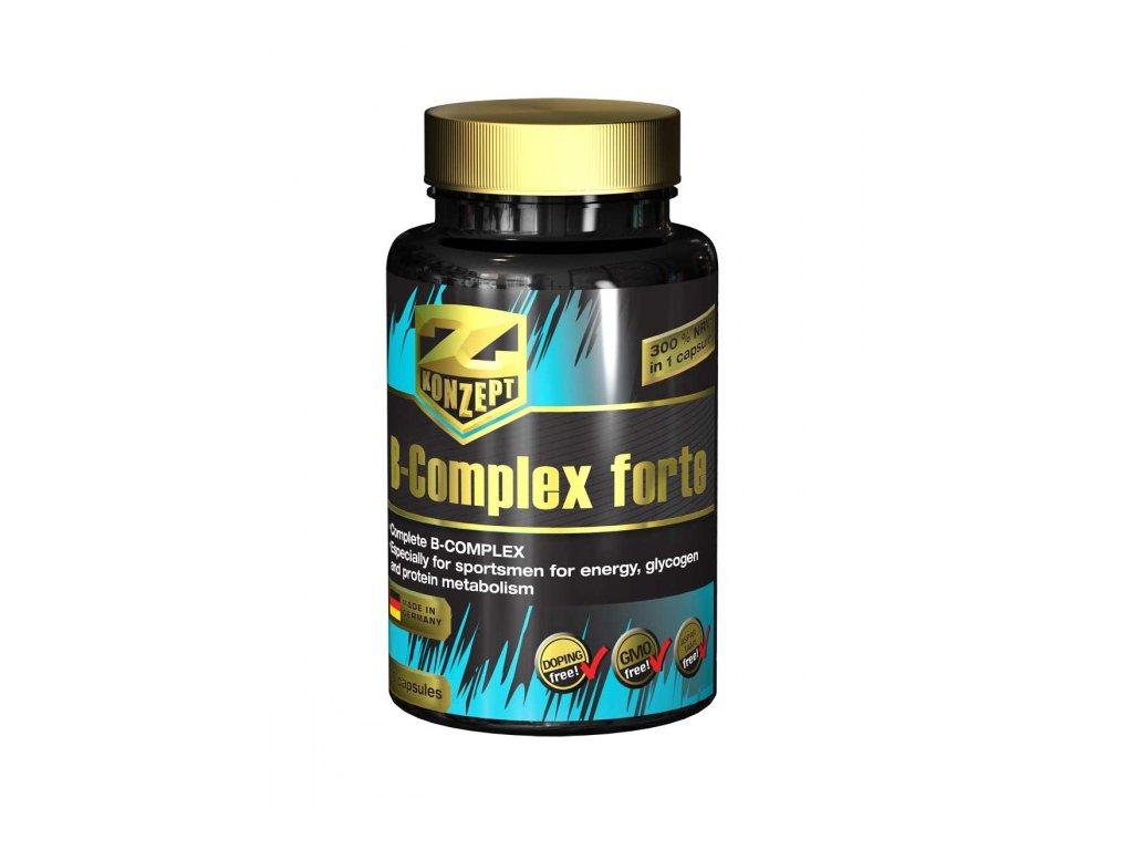 Z-KONZEPT NUTRITION B-Complex Forte 60 kapslí