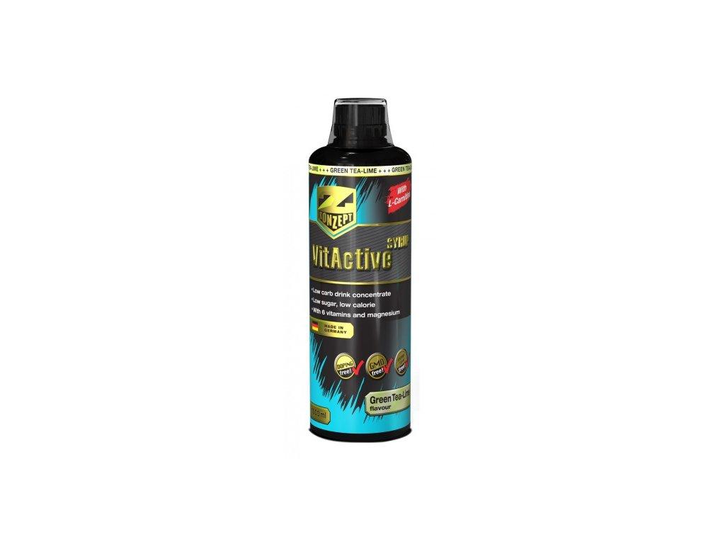 Z-KONZEPT NUTRITION Vit Active Sirup + L-Carnitine 1000 ml