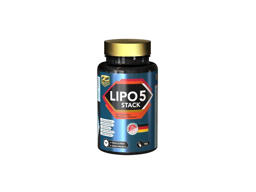 Z-KONZEPT NUTRITION Lipo 5 Stack 90 kapslí